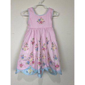 Boutique Toddler Girls Floral Dress 2T